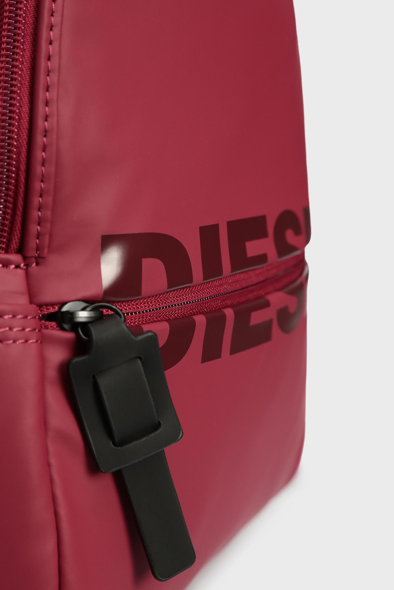 Женский бордовый рюкзак BOLDMESSAGE Diesel
