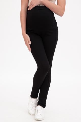 Утепленные брюки для беременных 11286 черный