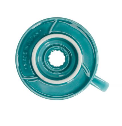 Воронка керамическая для приготовления кофе, цвет голубой VDC02-BU-UEX