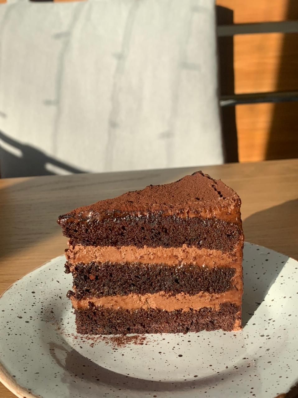 Торт шоколадный ганаш