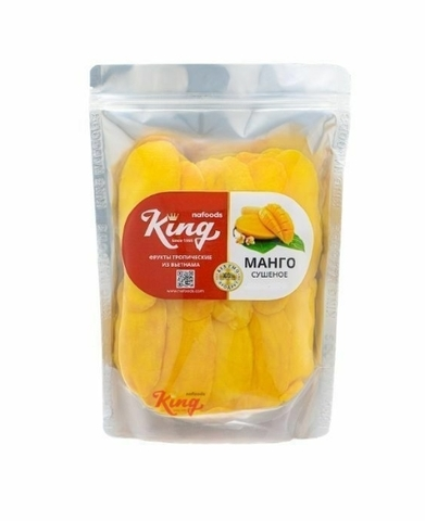 Манго сушеный KING, без сахара