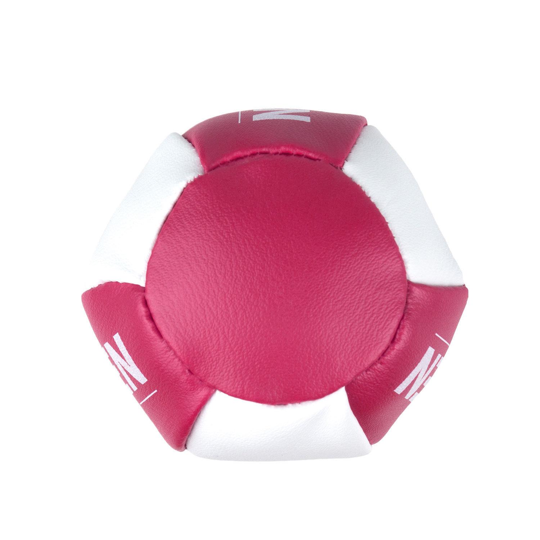 Брелок мини-груша Dozen Light розово-белый вид снизу