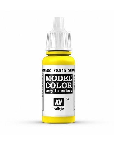 Model Color Deep Yellow 17 ml.