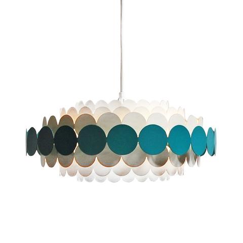 Подвесной светильник Doria Leuchten by B22 Design (синий)