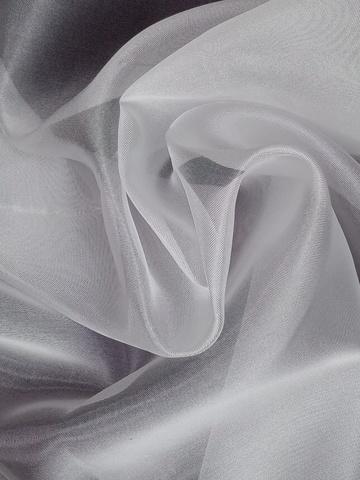 Микровуаль с утяжелителем Белая