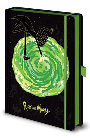 Записная книжка Rick and Morty - Portals