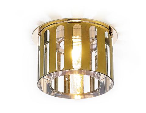 Светильник D1014 GD золото гальваника G9