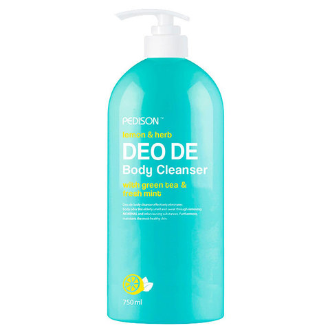 Гель для душа Лимон - мята / Pedison DEO DE Body Cleanser 750 мл