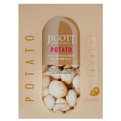 Ампульная маска Jigott Potato Real Ampoule Mask с экстрактом картофеля 27 мл