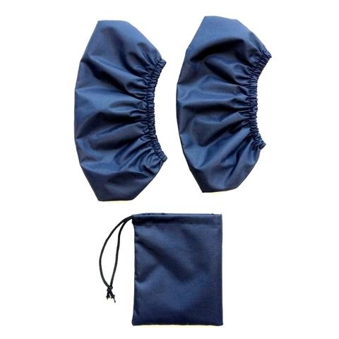Бахилы (34-45 размер) ВЗРОСЛЫЕ Синие (с мешочком)
