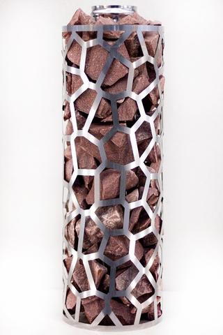 Сетка-каменка №1 (Саванна) — d-300 — h-500 мм — нерж 1,5 мм AISI 430