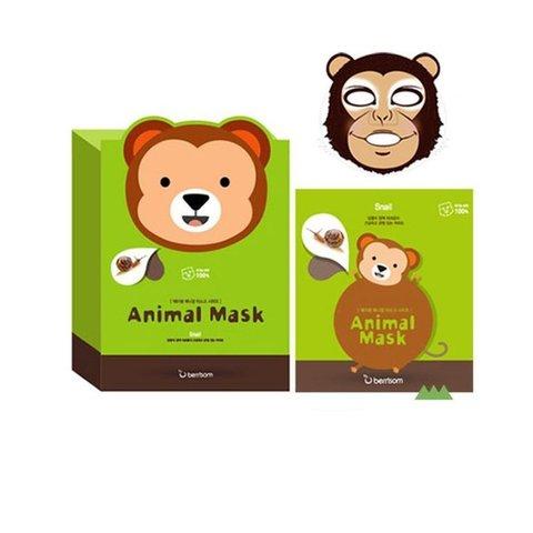Маска тканевая с муцином улитки Animal mask series