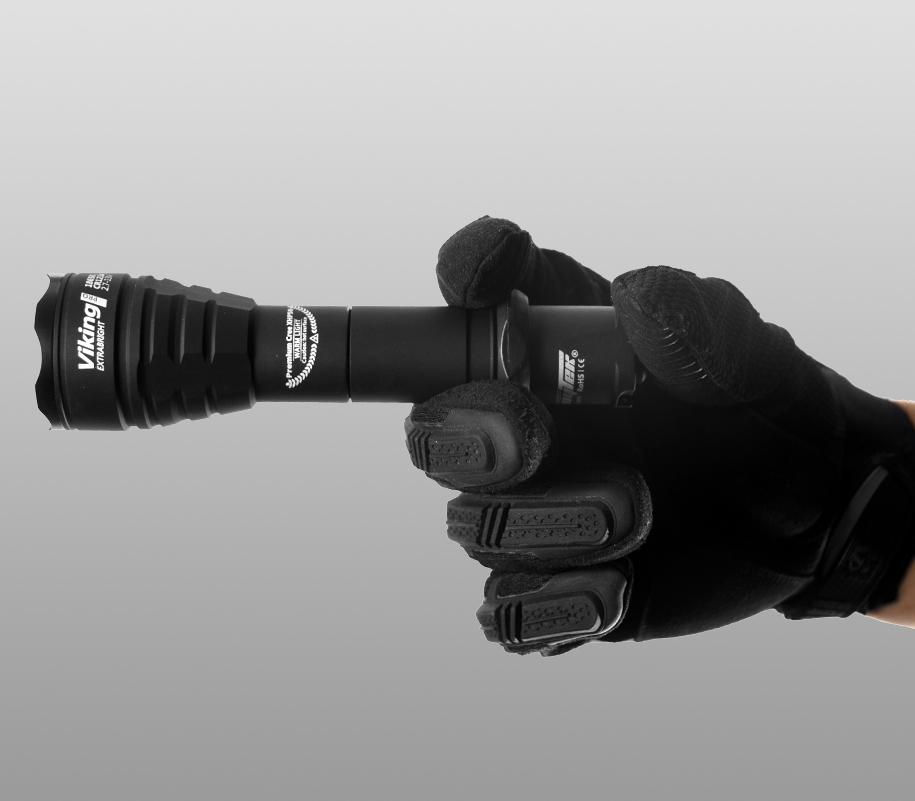 Тактический фонарь Armytek Viking Pro (тёплый свет) - фото 8