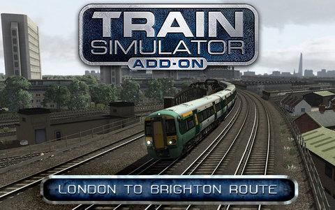 Train Simulator: London to Brighton Route Add-On (для ПК, цифровой ключ)