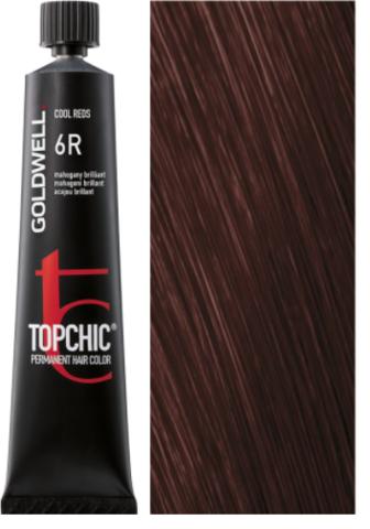 Goldwell Topchic 6R махагон бриллиант TC 60ml