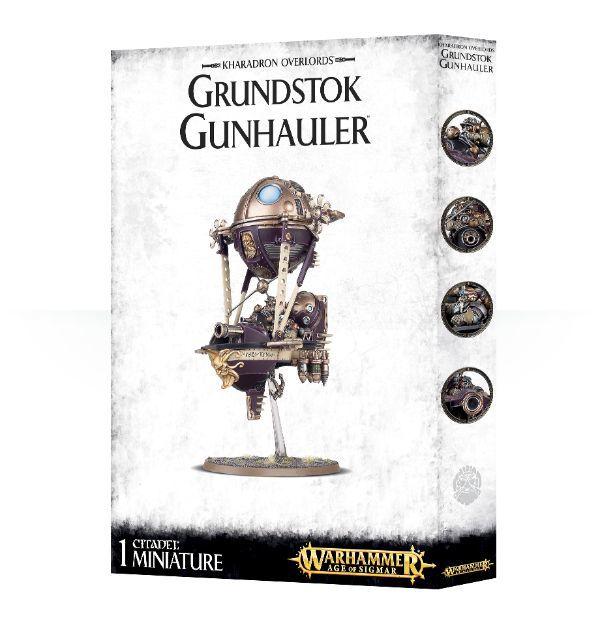 Grundstok Gunhauler. Вариант сборки