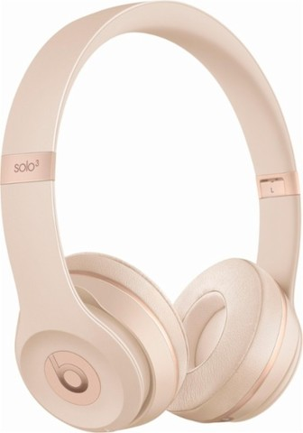 Наушники Bluetooth Beats Beats Solo3 Wireless On-Ear Matte Gold/Матовый золотой