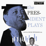 Lester Young With The Oscar Peterson Trio / The President Plays (LP)