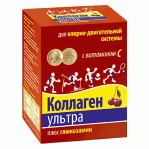 КОЛЛАГЕН УЛЬТРА ПЛЮС ГЛЮКОЗАМИН 8,0 N7 ПАК /ВИШНЯ/