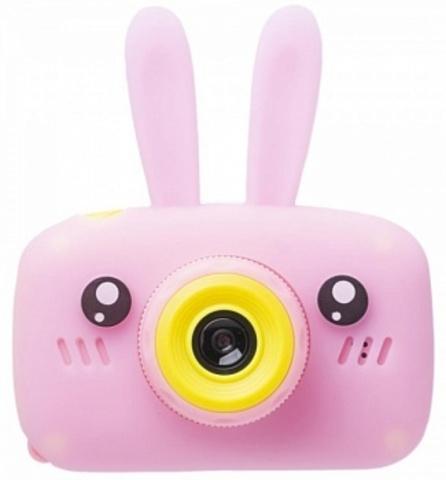Фотоаппарат Fun Camera Rabbit со встроенной памятью и играми (Розовый)