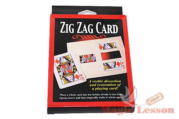Zig-Zag Card
