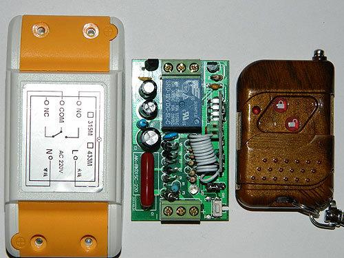 Выключатель дистанционный на радиочастоте RC-1-220-RK-01S-KP2