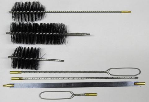 Щетка малая (набор) для котлов 50 мм