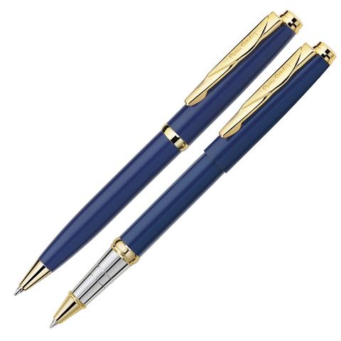 Набор подарочный Pierre Cardin Pen&Pen - Blue GT, ручка шариковая + ручка роллер