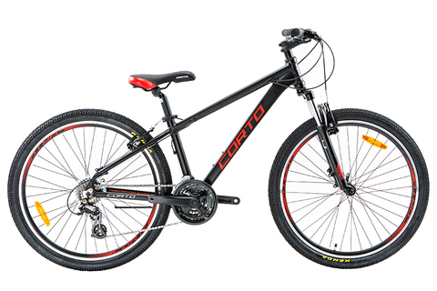 велосипед Corto SUV 2020 черный