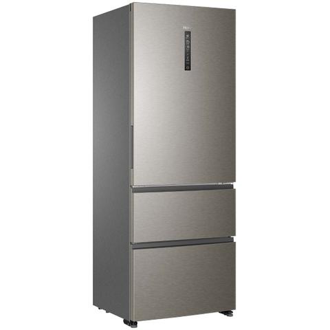 Холодильник HAIER A4F742CMG (1,9 m, серебристый, ширина 70см.)