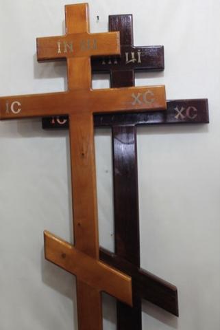 Крест на могилу сосна К-01