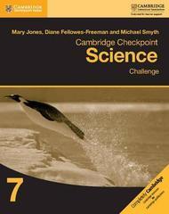 Cambridge Checkpoint Science Challenge Workbook 7