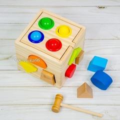 Сортер-стучалка кубик
