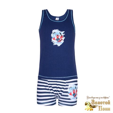Комплект хлопок мальчику (3-6) 201214-MD20.68