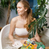 Бомбочка-гейзер для ванн Papaya Tink 200 г (2)