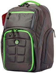 Рюкзак с контейнерами для еды 6 Pack Fitness Expedition Backpack 300 Grey/Green - 2