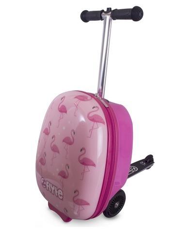 Самокат-чемодан Фламинго Zinc Flyte