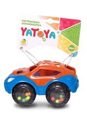 ЯиГрушка Машинка-неразбивайка оранжево-синяя (912022ЯиГ)