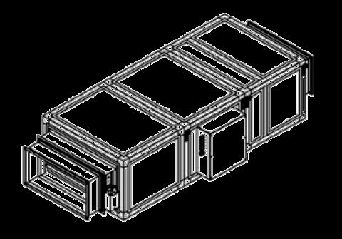 Приточная установка Breezart 2700 Lux 22,5 - 380/3
