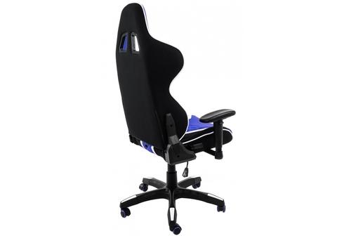 Офисное кресло для персонала и руководителя Компьютерное Prime черное / синее 70*70*125 Черный / синий