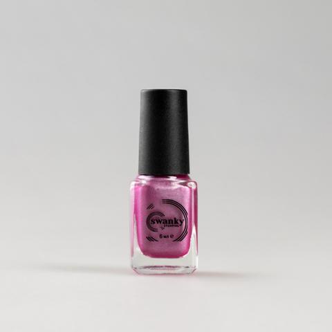 Лак для стемпинга Swanky Stamping M121, розовый 6 мл.