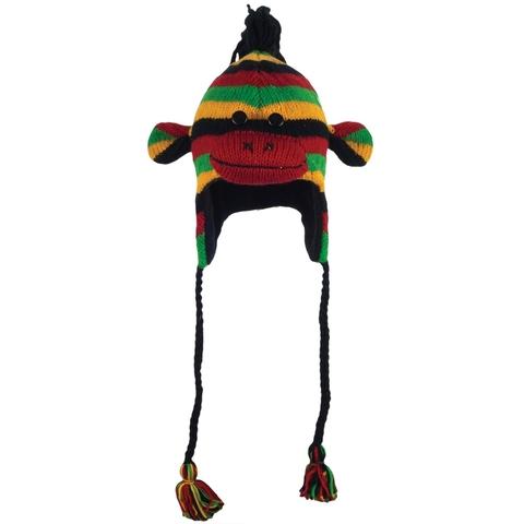 Картинка шапка с ушами Knitwits Rasta  - 1