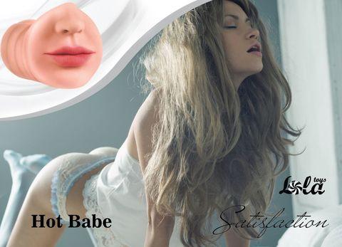 Мастурбатор-ротик Hot Babe