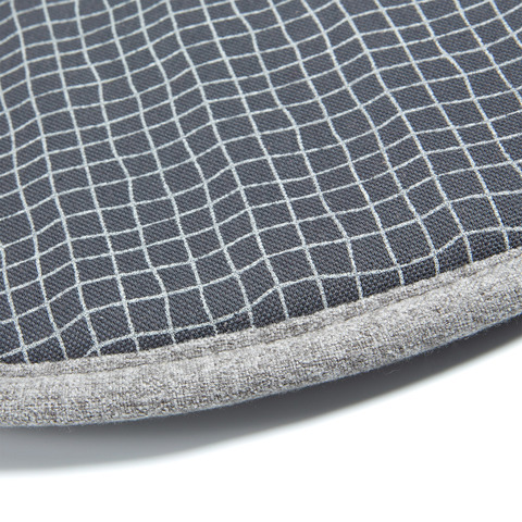Подушка Stick круглая бежевая