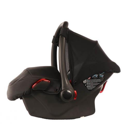 Детское автокресло Junama SE черное с красным