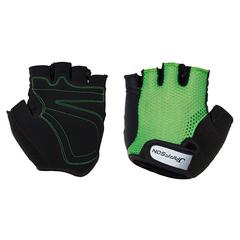 Велоперчатки JAFFSON SCG 46-0398 (чёрный/зелёный)