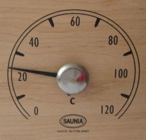 Термометр квадратный Sauna