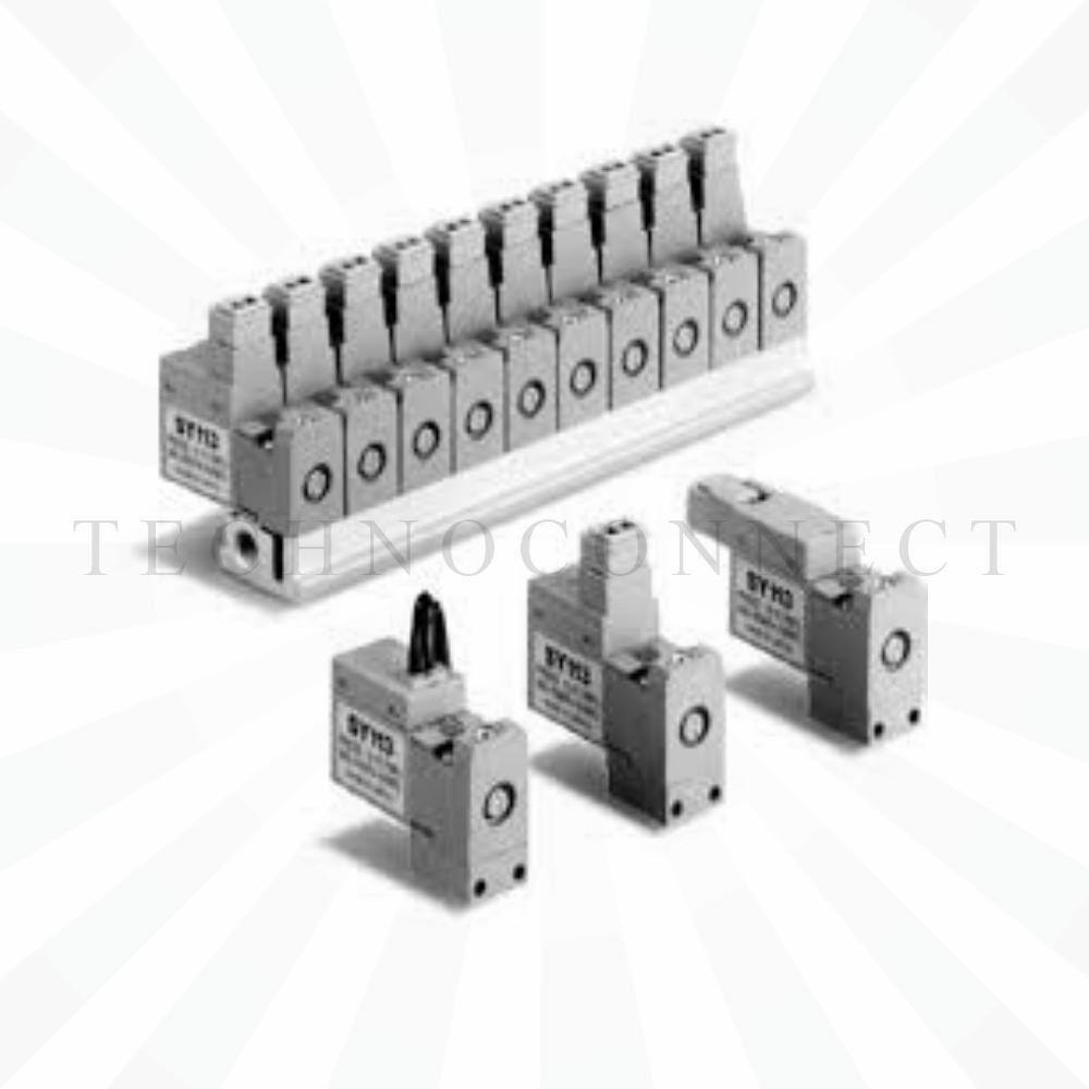 SY113A-5LO-PM3-Q   3/2-Пневмораспределитель, М3х0.5, 24VDC