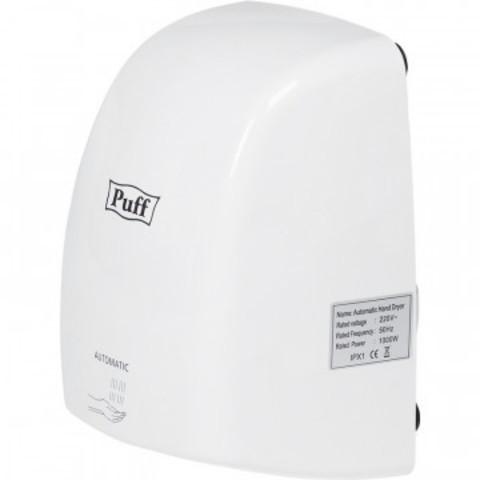 Сушилка для рук электрическая 1 кВт белая Puff-8815