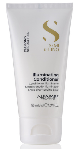 Alfaparf Milano Кондиционер для нормальных волос, придающий блеск Semi Di Lino Diamond Illuminating Conditioner